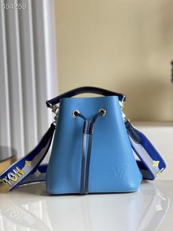 Louis Vuitton NéoNoé BB Bucket Bag 20cm Epi Canvas Leather Spring/Summer 2021 Collection M53610, Bleuet