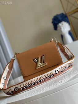 Louis Vuitton Twist MM Bag 23cm Epi Canvas Leather Spring/Summer 2021 Collection M57506, Gold Honey