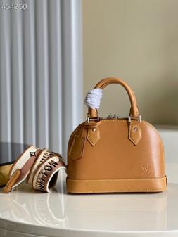 Louis Vuitton Alma BB Bag 24cm Epi Leather Spring/Summer 2021  Collection M57426, Gold Honey