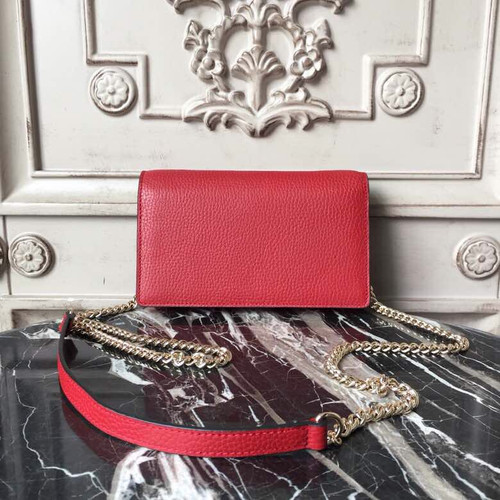 ... Box Shoulder Bag 20cm 510304 Grained Calfskin Leather Spring Summer  2018 Collection 3fdaf6ae037f2
