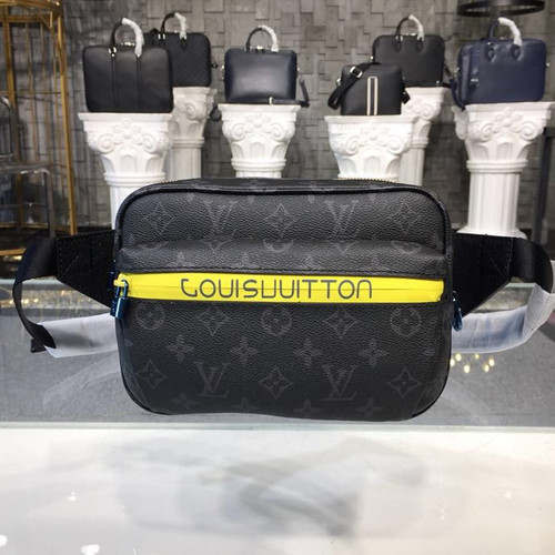 579f5a1f6a400 Bumbag Fanny Pack Bag Monogram Eclipse Canvas Kim Jones Spring Summer 2018  Collection M43828
