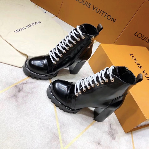 Louis Vuitton Star Trail Ankle Boot Calfskin Leather Fall Winter