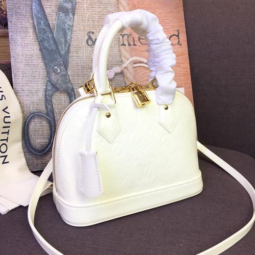 6b231407c90 Louis Vuitton Alma BB Bag Monogram Vernis Spring Summer 2019 Collection  M91678
