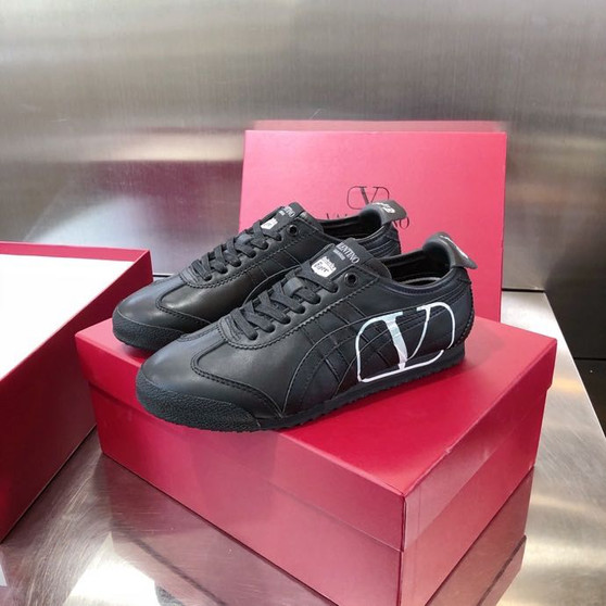 Valentino x Onitsuka Tiger Sneakers Calfskin Leather Spring/Summer 2020 Collection, Black