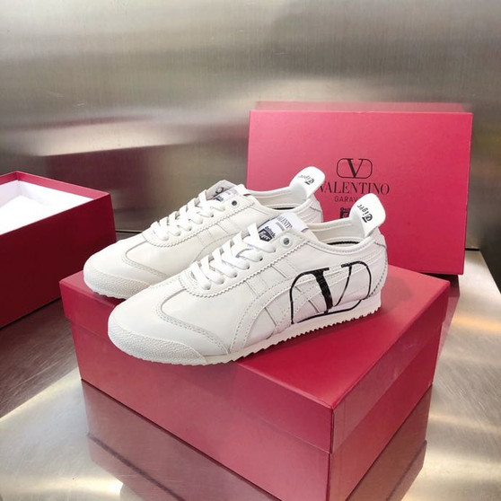 Valentino x Onitsuka Tiger Sneakers Calfskin Leather Spring/Summer 2020 Collection, White