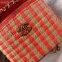 Chanel Raffia Vanity Case Bag 12cm AP1998 Jute Thread/Lambskin Leather Spring/Summer 2021 Collection,  Pink