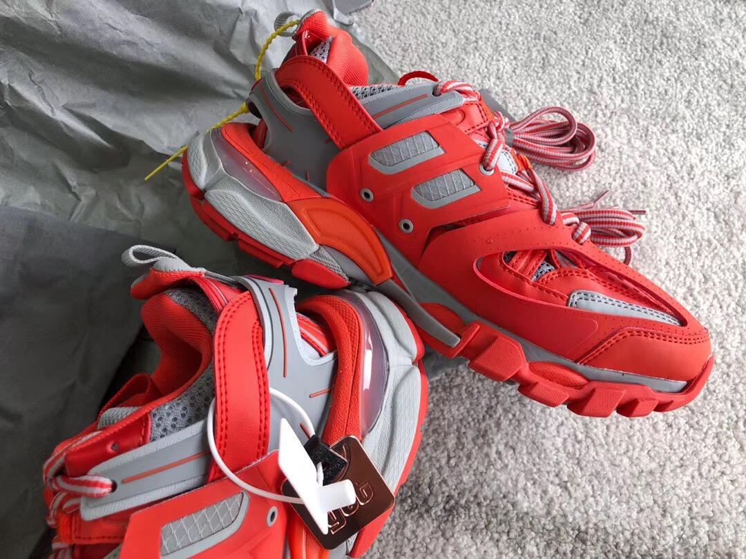 Balenciaga Track Trainer Sneaker 3.0 White Orange YouTube