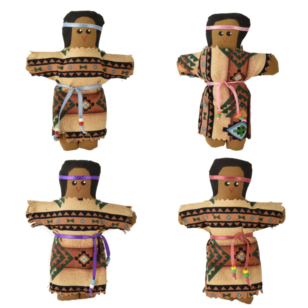 Native Girl Doll by Wendy Hamilton (Penobscot).