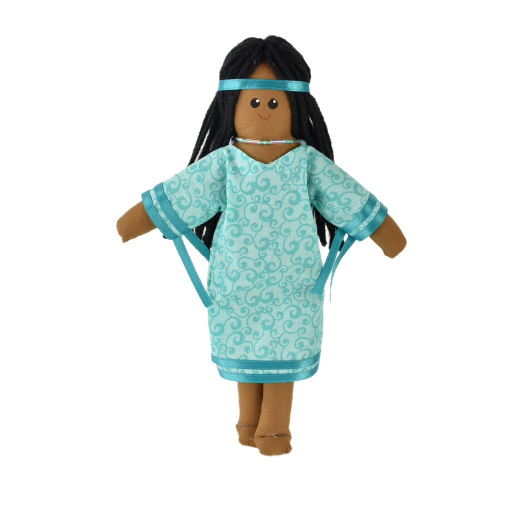 "11"" Native Woman Doll #52-0011"
