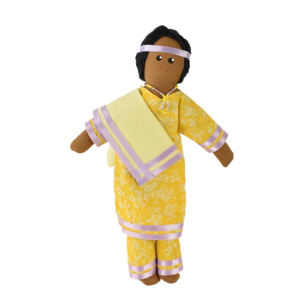 Native Woman Doll with Shawl - Item #52-0011