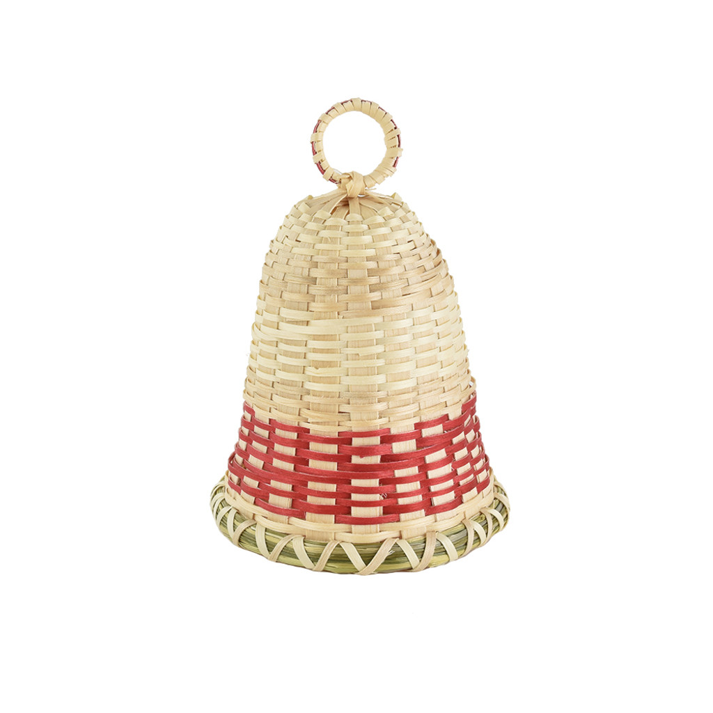 Butch Jacobs's Red and White Bell by Butch Jacobs (Passamaquoddy).