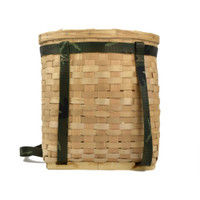 Child-size Pack Basket by Eldon Hanning (Micmac).