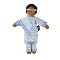 Native Woman Doll with Shawl - Item #52-0015