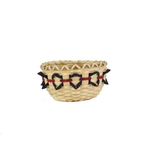 Miniature Woodpecker Bird Beak Basket by Pam Cunningham (Penobscot).