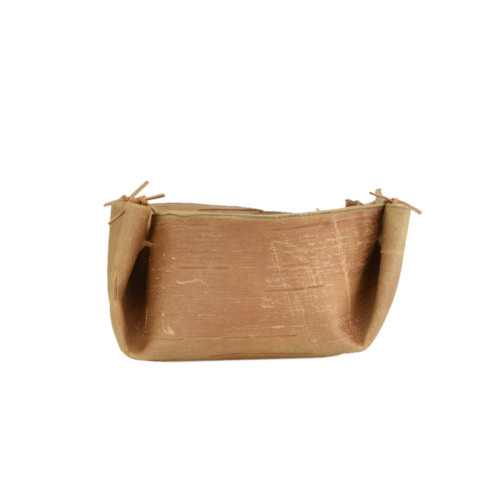 Small Folded Birchbark Container by Barry Dana (Penobscot).