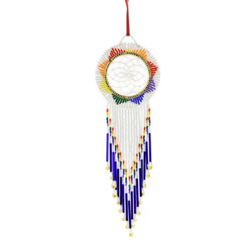 Medium Dream Catcher by Maria Nicholas (Passamaquoddy).