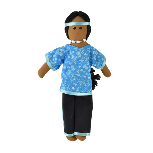 "11"" Native Woman Doll #52-0010"
