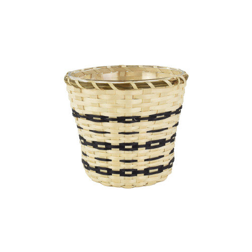 Dolly Barnes's Trinket Basket by Dolly barnes (Passamaquoddy).