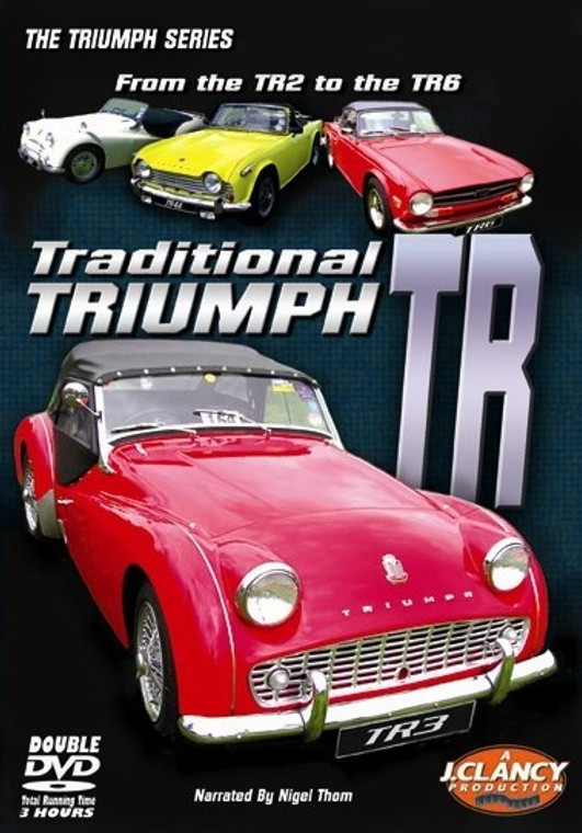 Traditional Triumph TR - From the TR2 to the TR6 - Front Cover