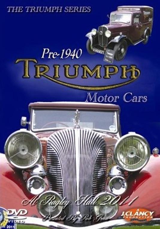 The Triumph Series - Pre-1940 Triumph Motor Cars - Front Cover