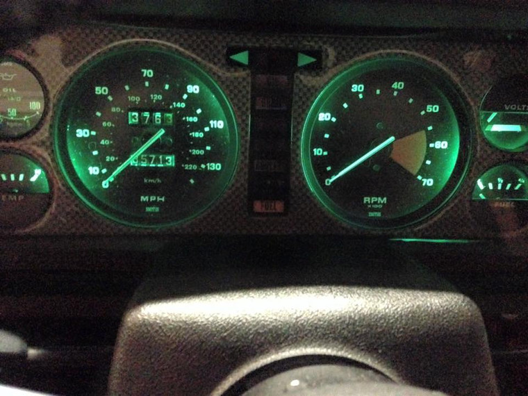 Interior Dash Lights - Green TR8/TR7