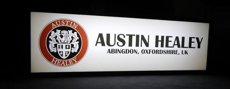 Austin Healey - Lighted Sign