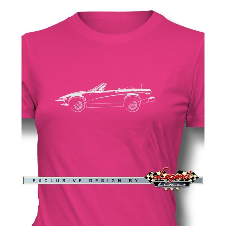 Triumph TR7 Convertible Women T-Shirt