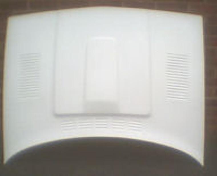 Fiberglass Bonnet Double Bulge