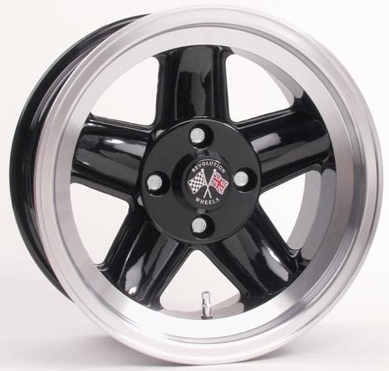 Triumph TR7 or TR8 Revolution 5 Spoke Wheels 15x7 4.95.25