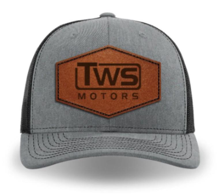 TWS Motors Leather Patch Hat