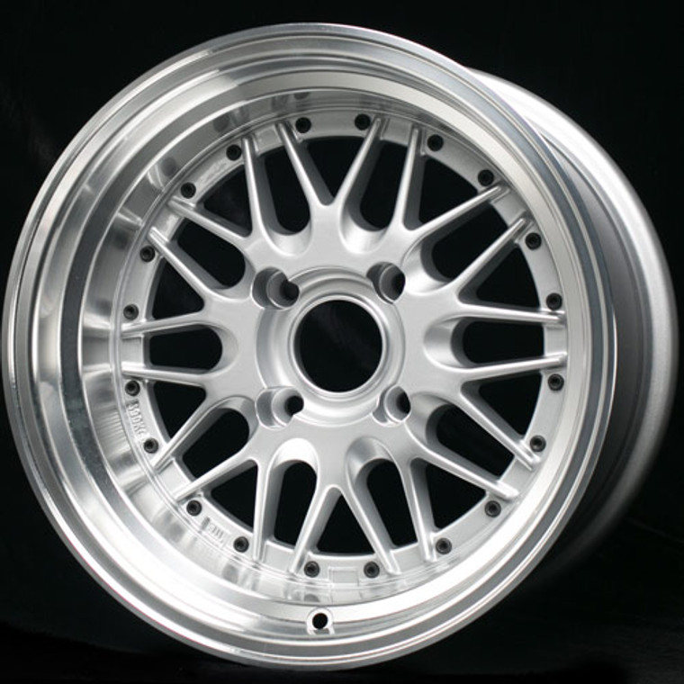 Aftermarket BBS LM style wheels 15x7 4x95.25 (WSAW157LM)