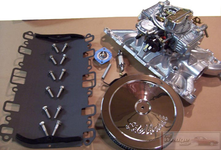 TWS Four Barrel Conversion Kit - Rover V8