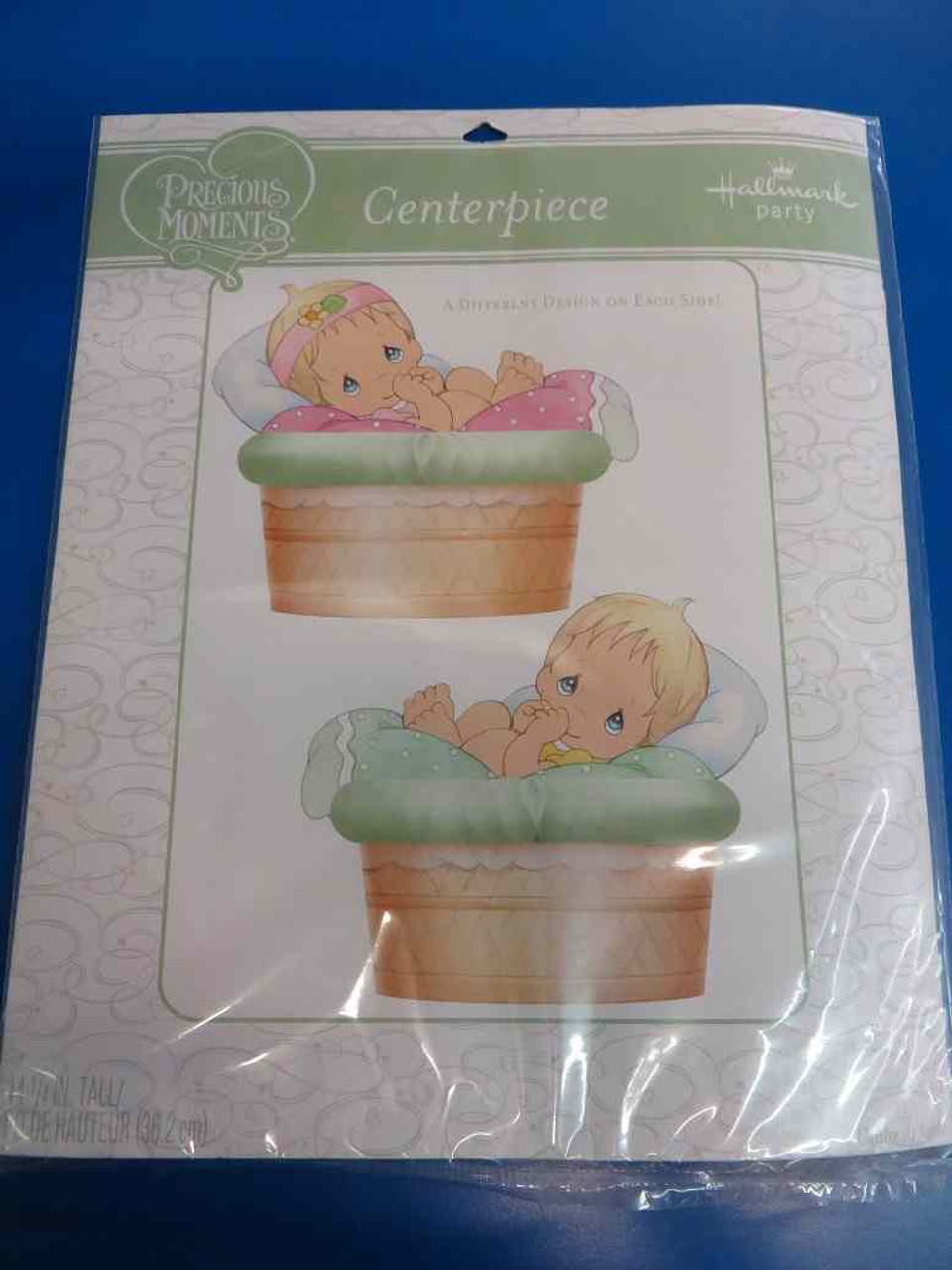 Precious Moments Boy Girl Baby Shower Party Decoration Centerpiece