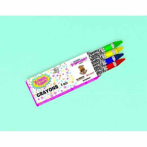 Birthday Party Favor Boxes Of Crayons