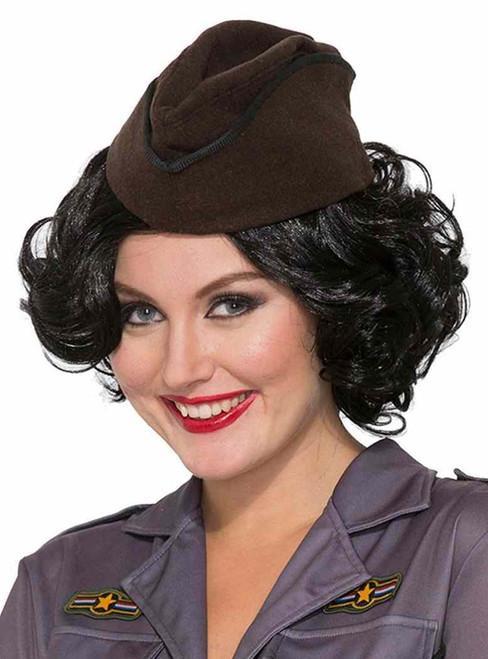 3fdf6b165c8 Adventurer Hat 1940 s Bombers   Bombshells Adult Costume Accessory ...