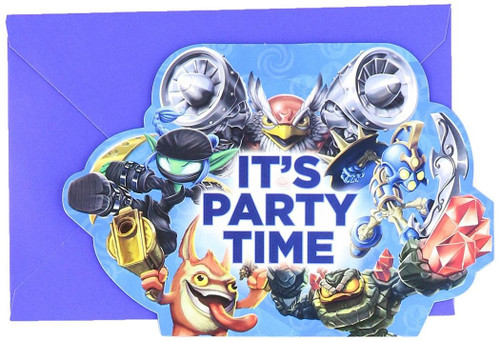 Skylanders Birthday Party Invitations