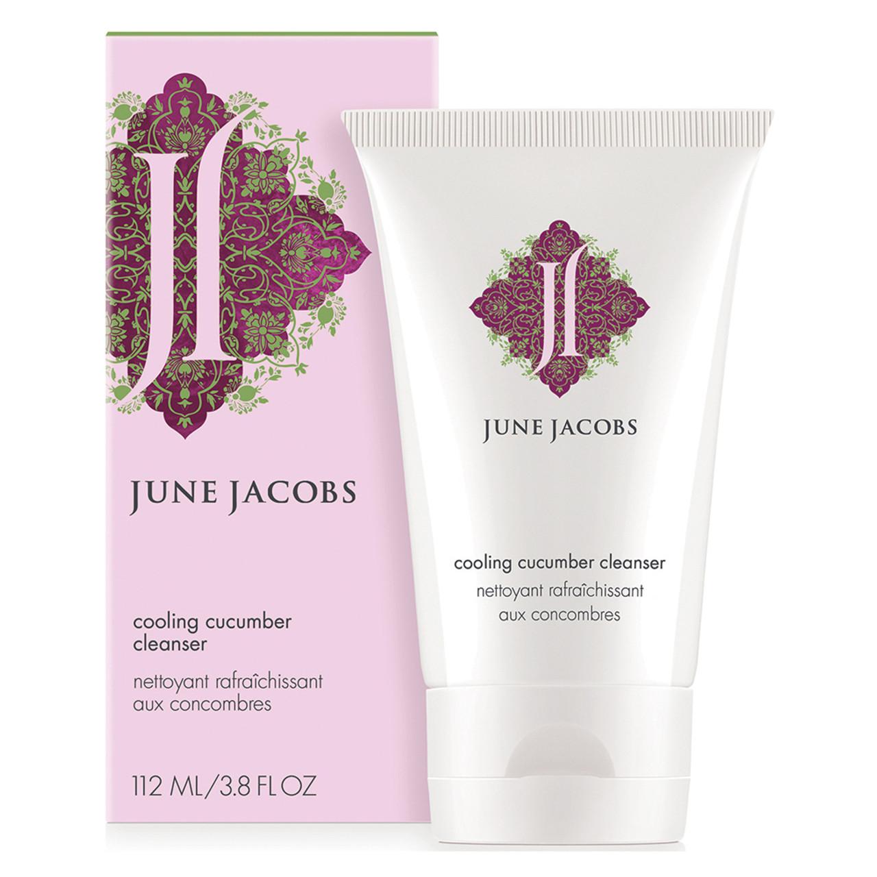 June Jacobs Cooling Cucumber Cleanser BeautifiedYou.com