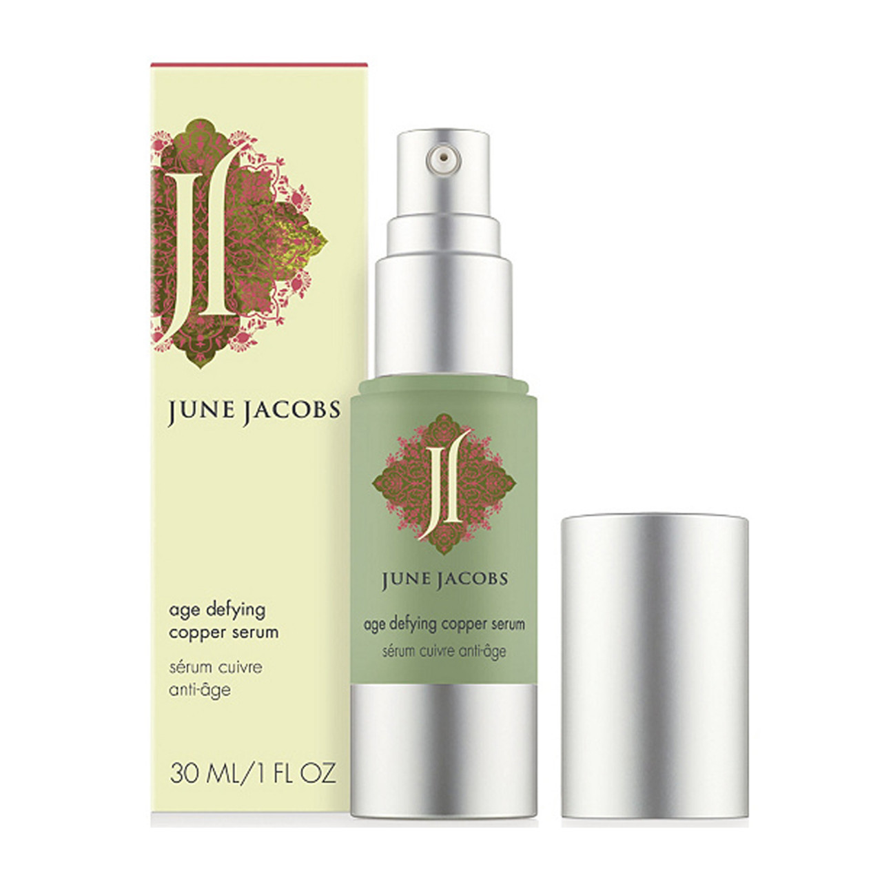 June Jacobs Age Defying Copper Serum BeautifiedYou.com