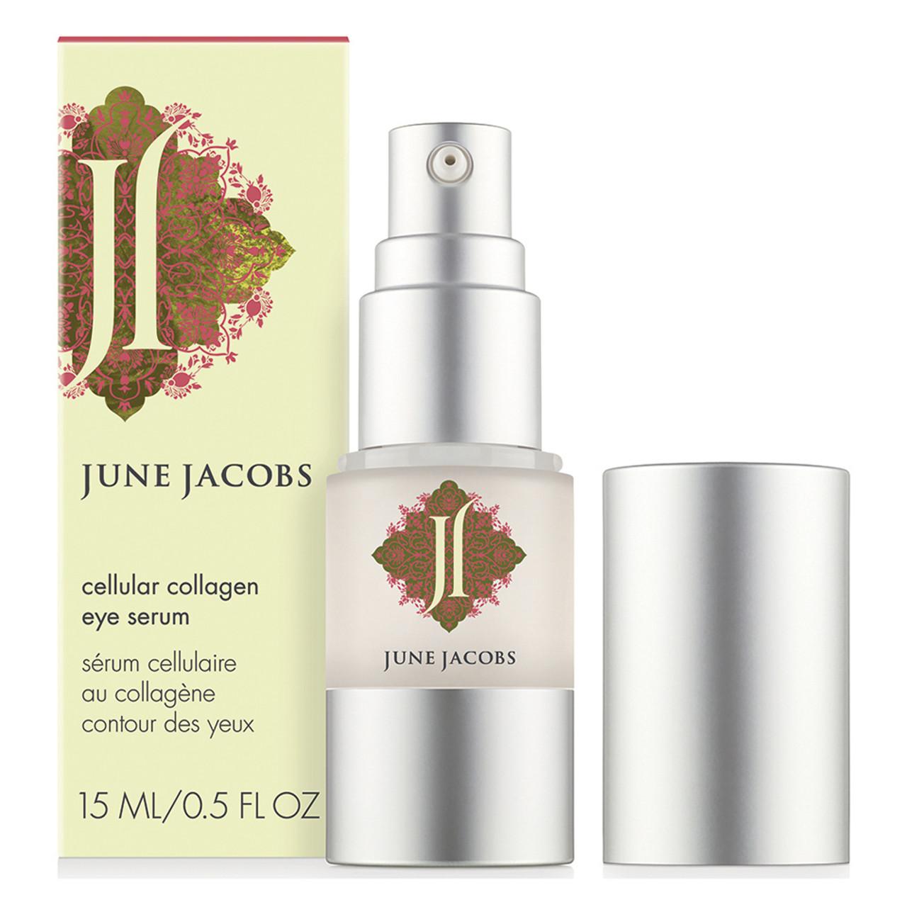 June Jacobs Cellular Collagen Eye Serum BeautifiedYou.com