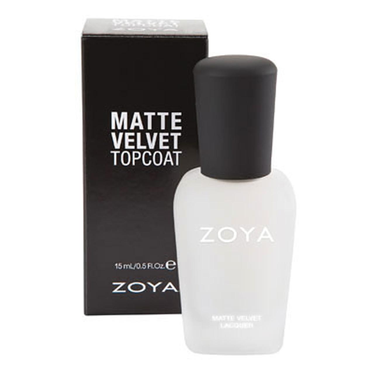 Zoya Matte Velvet Top Coat BeautifiedYou.com