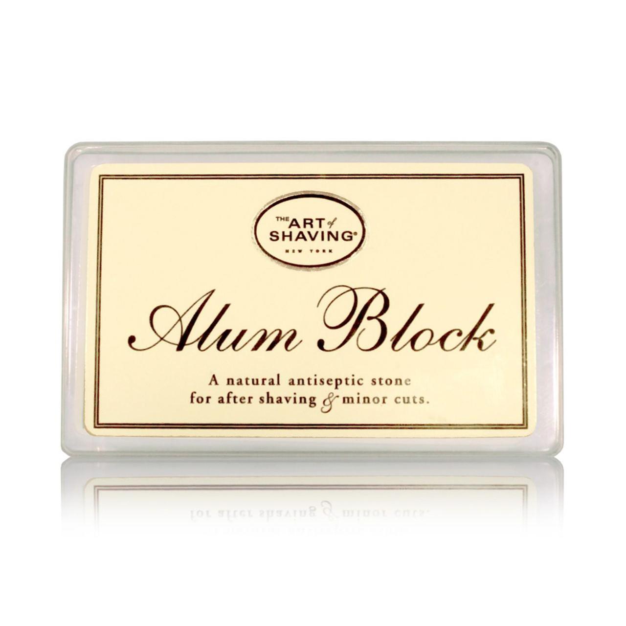 The Art of Shaving Alum Block