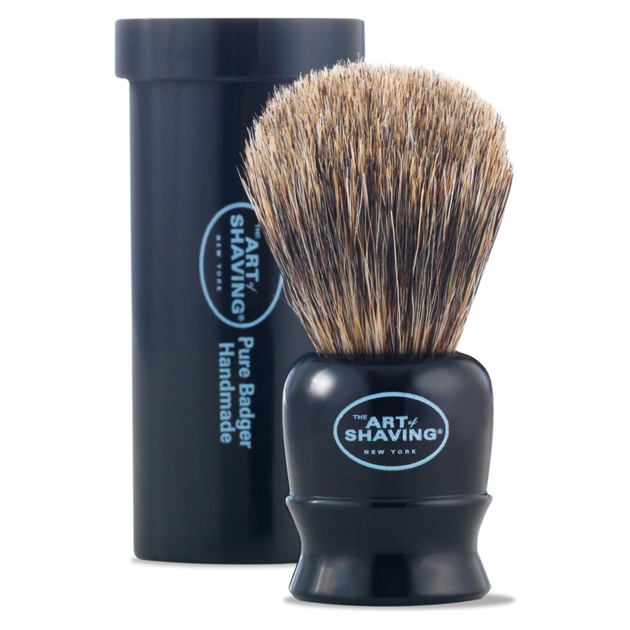 The Art of Shaving Black Travel Brush
