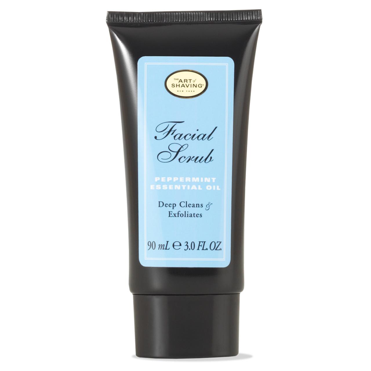 The Art of Shaving Facial Scrub Peppermint BeautifiedYou.com
