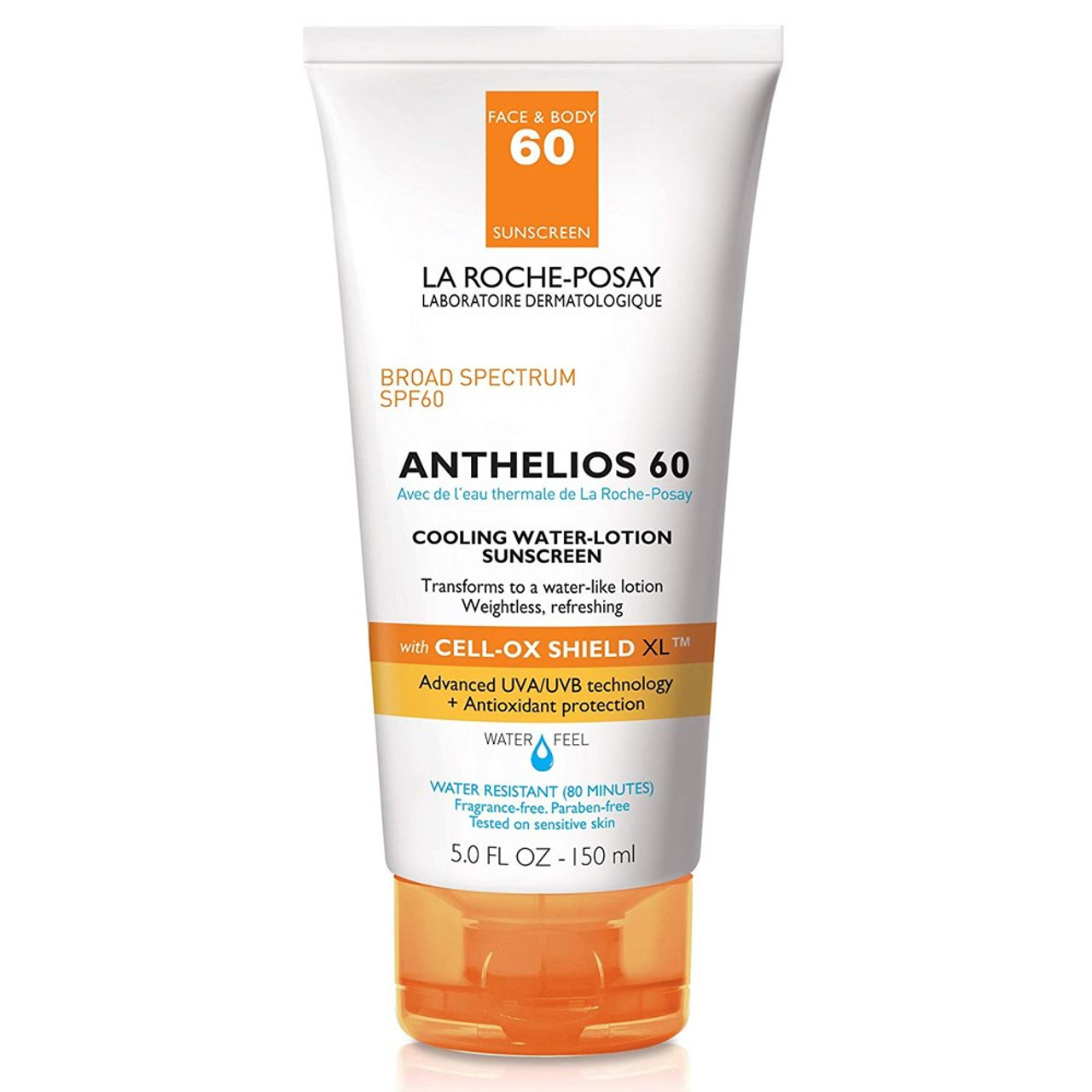 La Roche Posay Anthelios Cooling Water Sunscreen Lotion SPF 60 BeautifiedYou.com