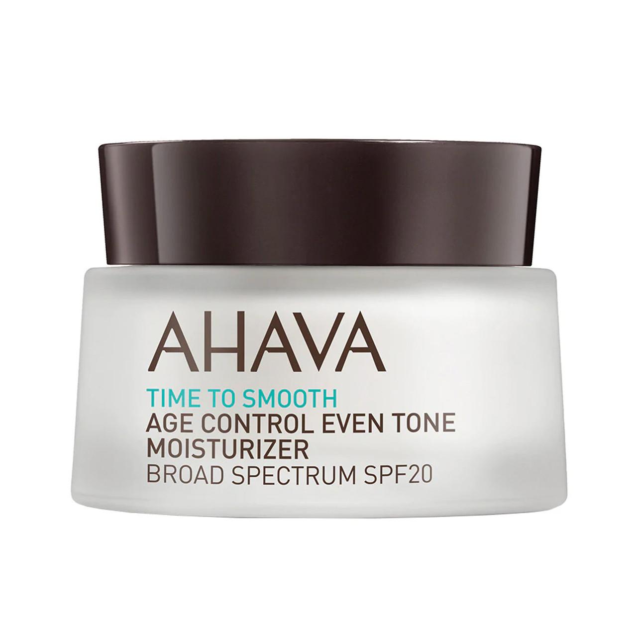 AHAVA Age Control Even Tone Moisturizer Broad Spectrum SPF 20 BeautifiedYou.com