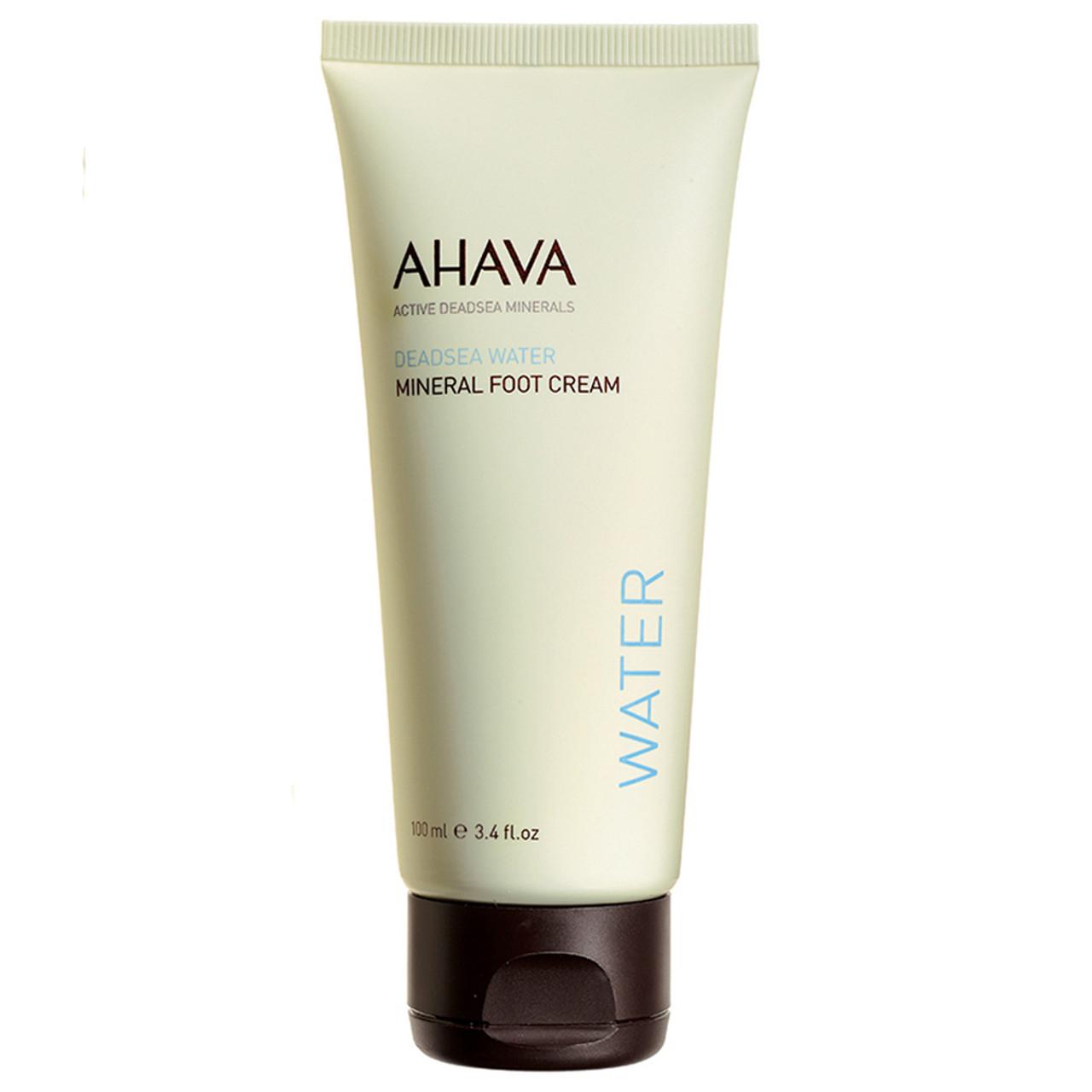 AHAVA Mineral Foot Cream BeautifiedYou.com