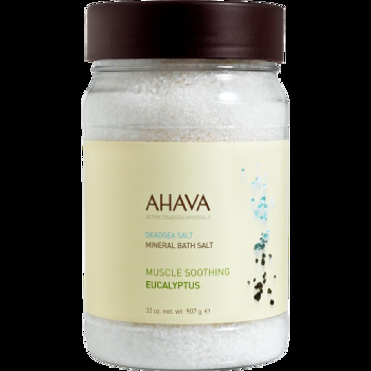 AHAVA Eucalyptus Bath Salt BeautifiedYou.com
