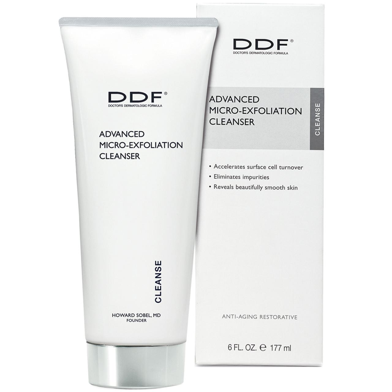 DDF Advanced Micro-Exfoliation Cleanser BeautifiedYou.com