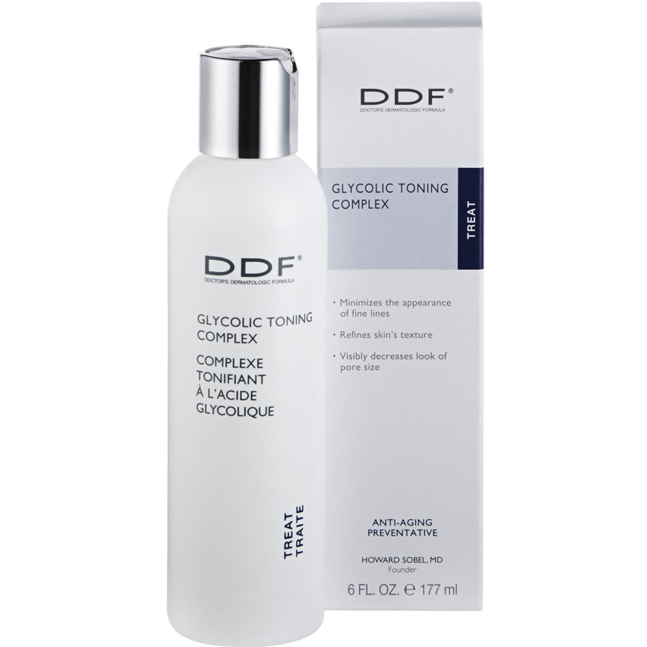 DDF Glycolic 10% Toning Complex BeautifiedYou.com