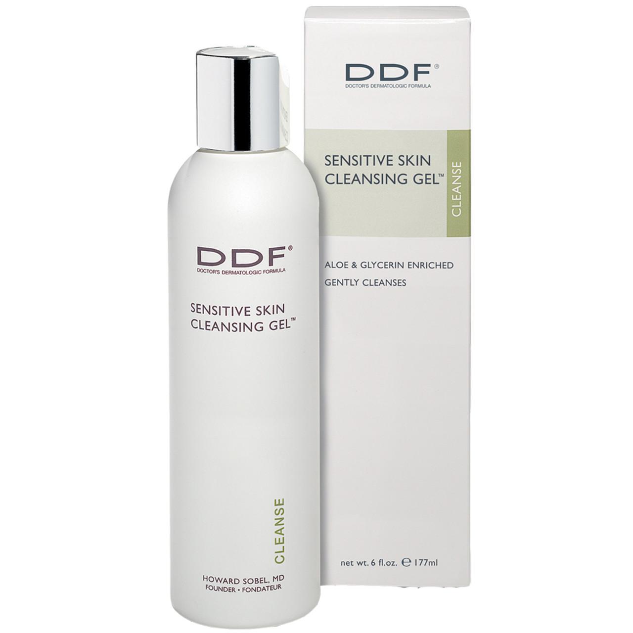DDF Sensitive Skin Cleansing Gel BeautifiedYou.com